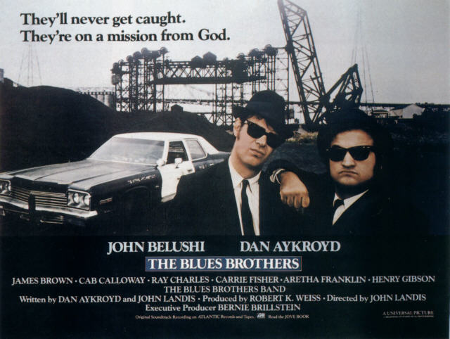 Blues Brothers Filmplakat