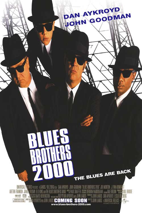 Blues Brothers 2000 Filmplakat